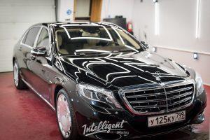 Mercedes Maybach - полировка лкп