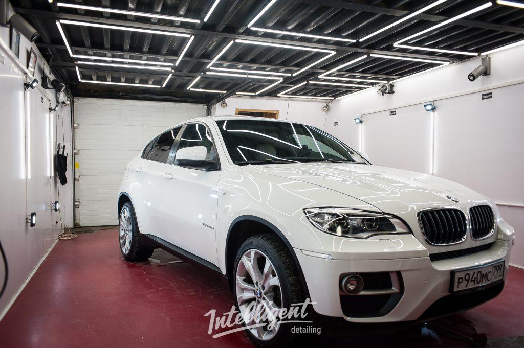BMW X6 полировка кузова