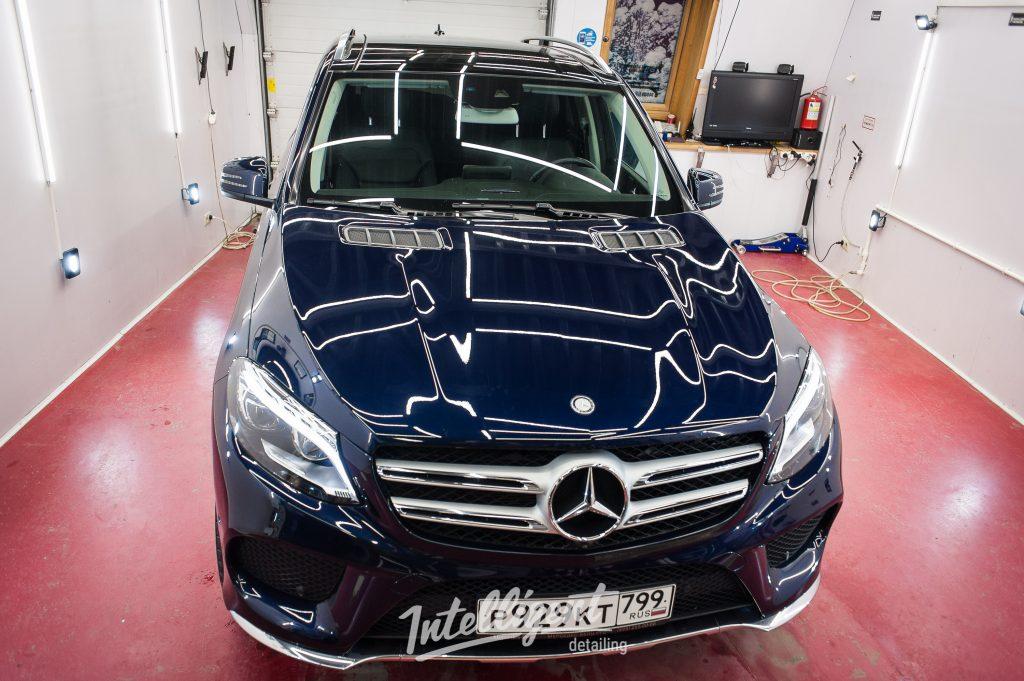 Mercedes GLE coup предпродажная подготовка