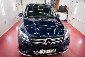 Mercedes GLE coup - предпродажная подготовка