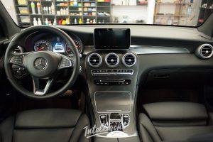 Mercedes GLC химчистка салона