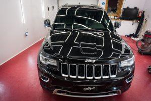 Jeep Grand Cherokee - полировка лкп