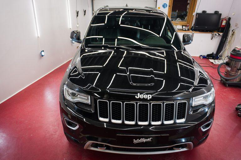 Jeep Grand Cherokee полировка лкп