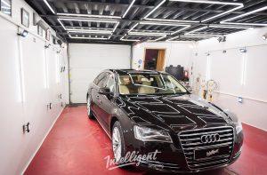 Audi A8 полировка кузова