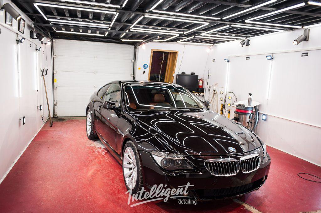 BMW 6 полировка кузова авто
