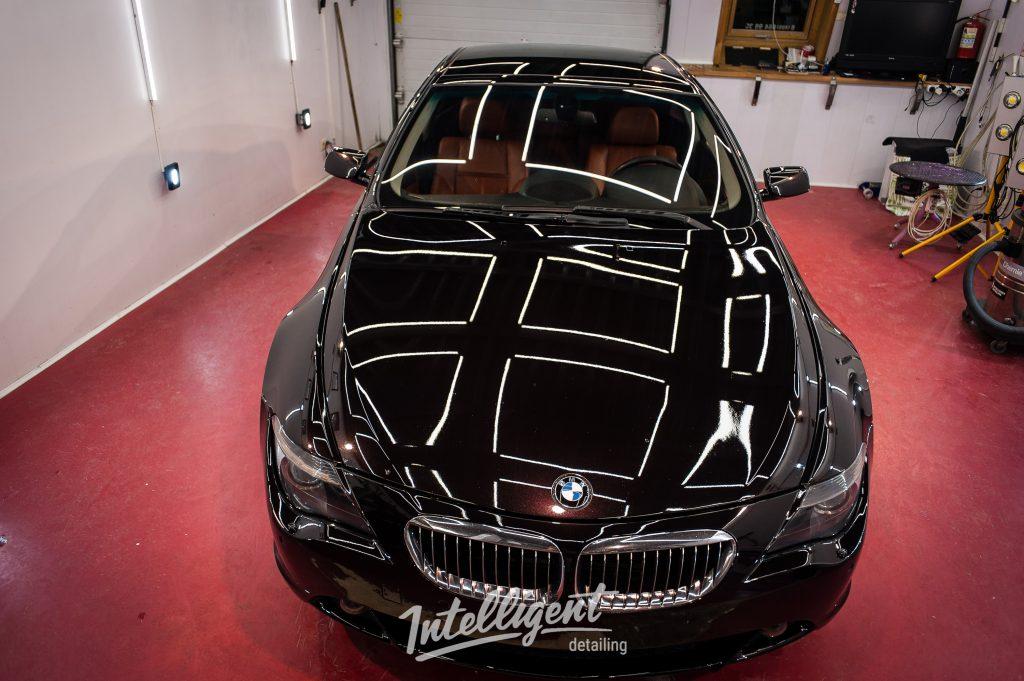 BMW 6 жидкое стекло
