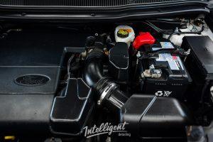 Ford Explorer - мойка двигателя паром