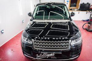Range Rover - полировка кузова