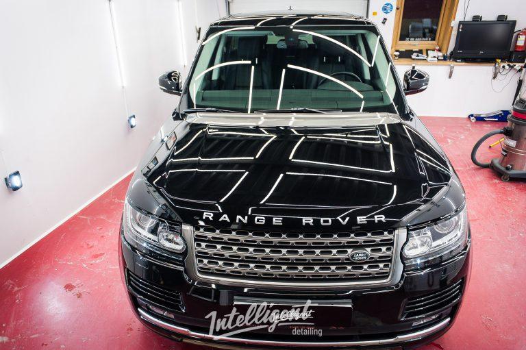 Range Rover полировка кузова + жид. стекло