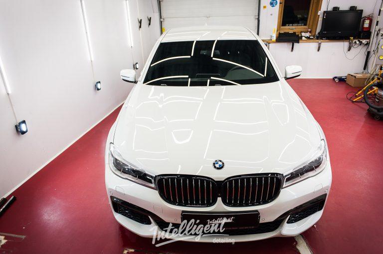 BMW 7 полировка, керамика