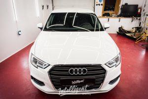 Audi A3 полировка, жидкое стекло