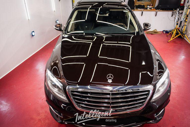 Mercedes S500 полировка, керамика