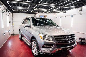 Mercedes ML - предпродажная подготовка