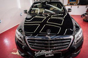 Mercedes S600 бронированный - полировка, керамика