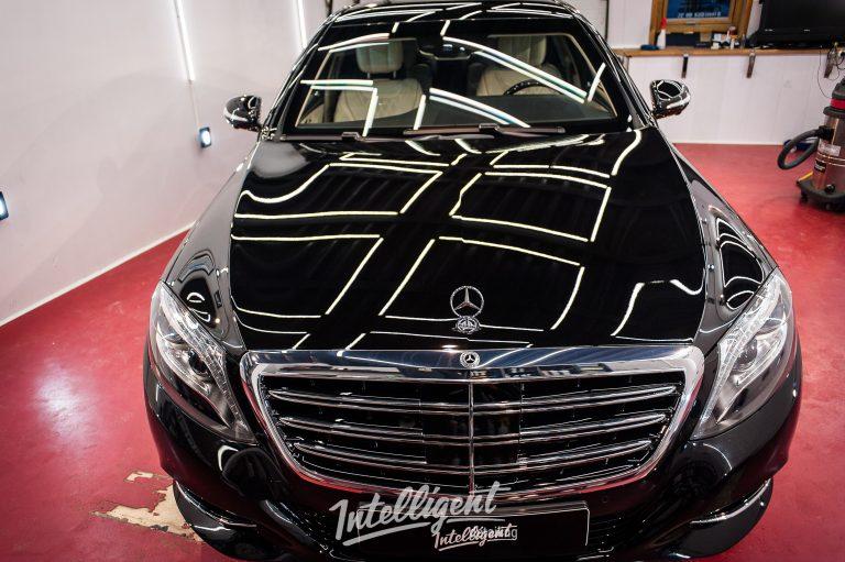 Mercedes S600 бронированный полировка, керамика