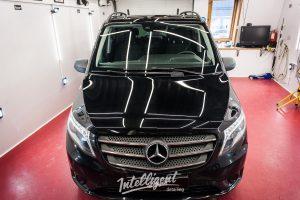 Mercedes V250 vito - керамика кузова авто и удаление полировка царапин в intelligent Detailing