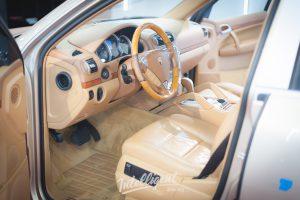 Porsche Cayenne химчистка салона