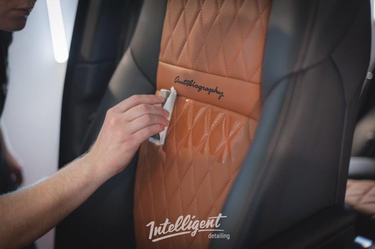 Range Rover Autobiography керамика кожи