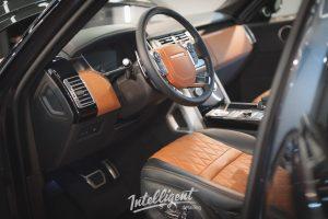 Range Rover Autobiography химчистка салона