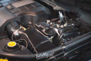 Range Rover Autobiography - мойка двигателя