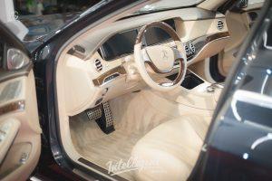 Mercedes S63 - химчистка салона