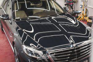 Mercedes s63 - полировка лкп и жидкое стекло