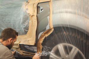 Audi Q7 - локальная покраска