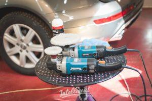 Audi Q7 - детейлинг, полировка, керамика