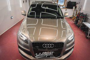 Audi Q7 - полировка лкп + керамика 1+1