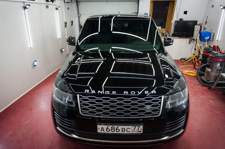 Range rover Vogue полировка + керамика 2+2
