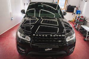 Range Rover Sport - полировка + жидкое стекло