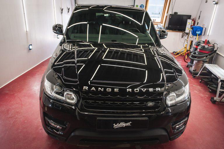 Range Rover Sport полировка + жидкое стекло