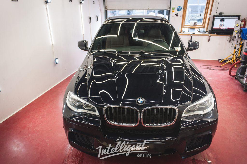 BMW X6M - полировка + керамика 1+1