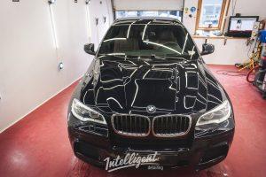 BMW X6M полировка + керамика 1+1