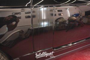 Range Rover Autobiography - покраска молдингов