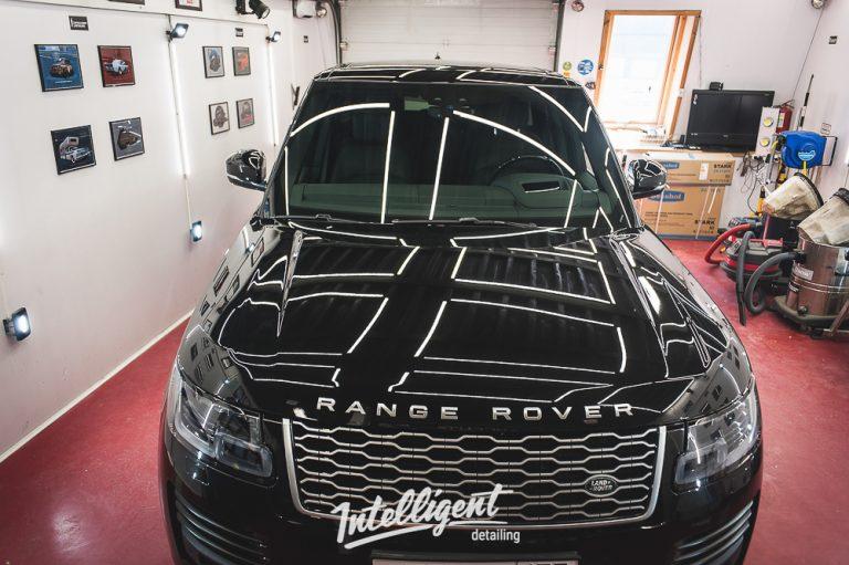 Range Rover Autobiography Полировка + защита керамикой 2+1