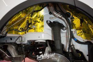 Jaguar e-pace - шумоизоляция колесных арок