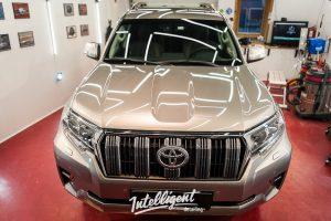 Toyota Prado - полировка + защита керамикой 1+1