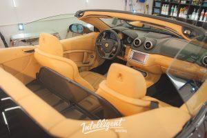 Ferrari California - химчистка салона + очистка лкп