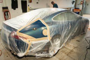 Jaguar XK - Локальная покраска