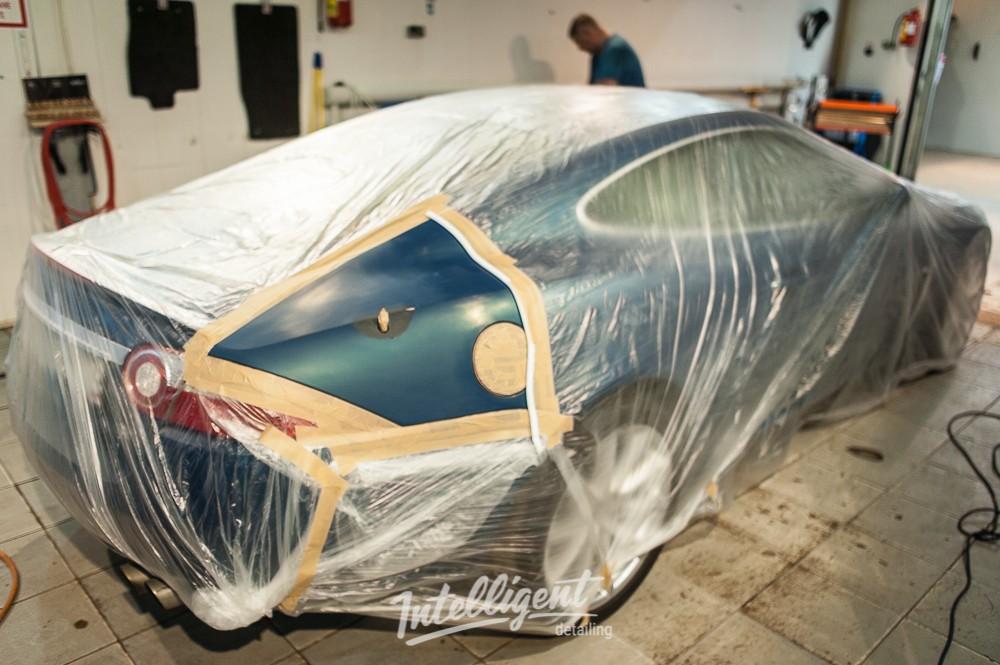 Jaguar XK Локальная покраска
