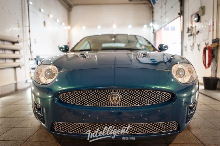 Jaguar XK - полировка и жидкое стекло