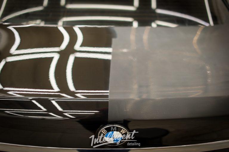 BMW 7 полировка и восковой пирог