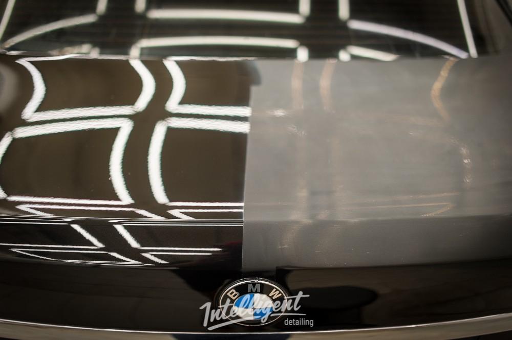 BMW 7 - полировка и восковой пирог