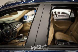 BMW X6 - антихром молдингов