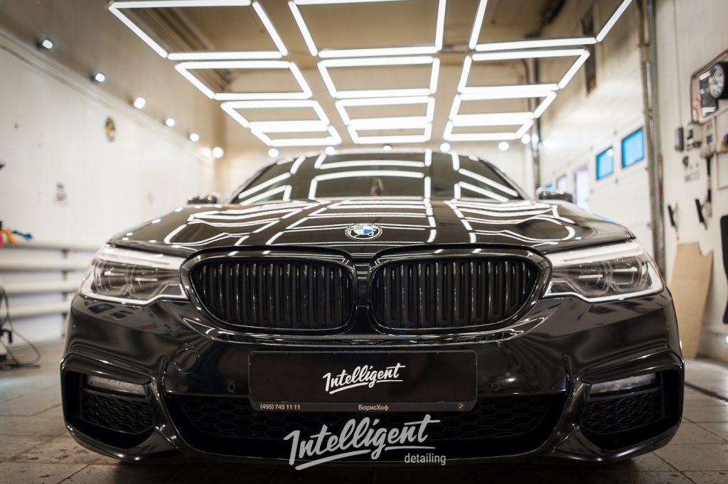 BMW 5 - защита лкп керамикой