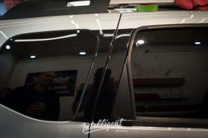Renault Duster оклейка арок
