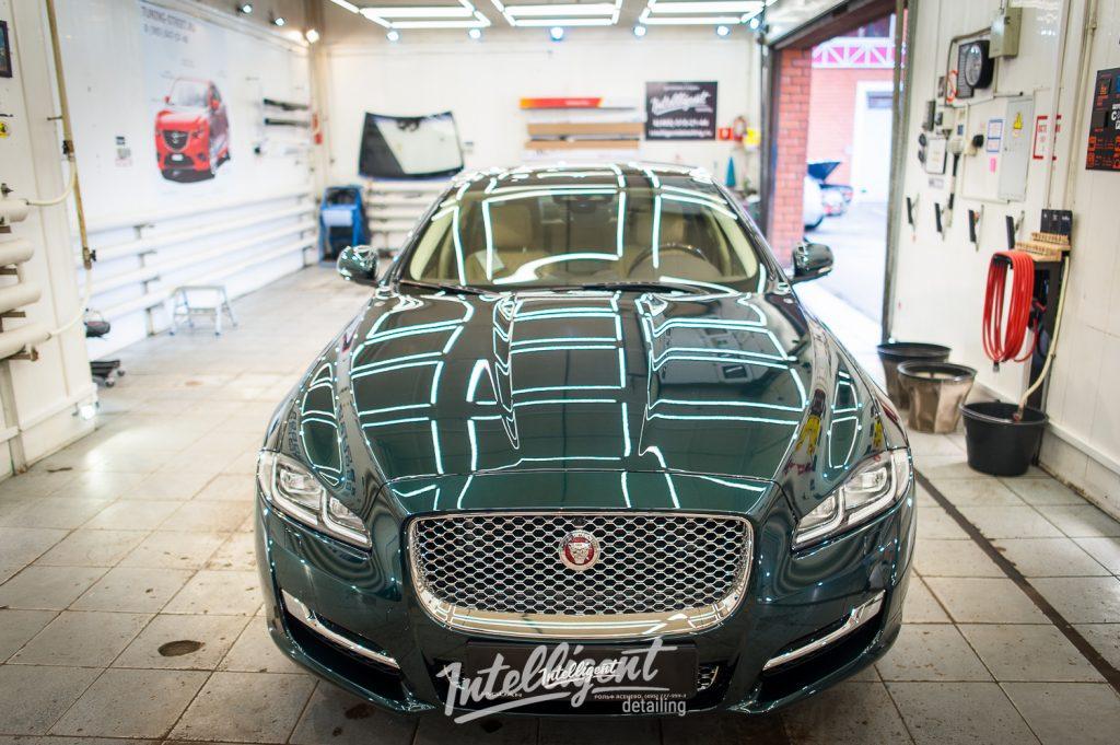Jaguar XJ полировка лкп кузова