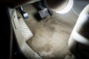Audi Q7 - химчистка салона и покраска кожи