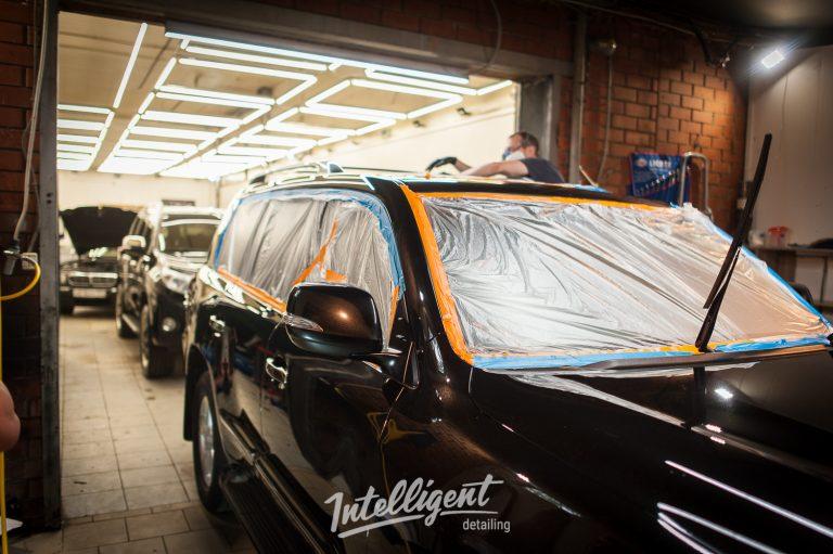 Lexus LX570 керамика кузова авто